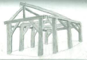 Sketch of Sam Banks Pavilion