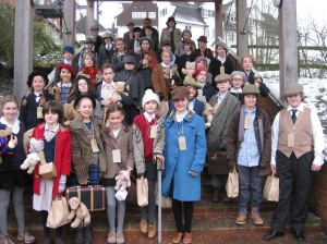 Bedales Prep pupils become evacuees for the day in study of World War 2