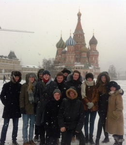 Bedales historians visit Russia