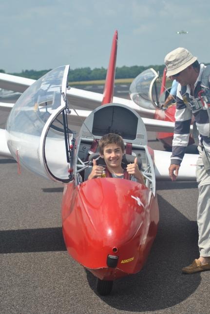 Exhilarating gliding experience