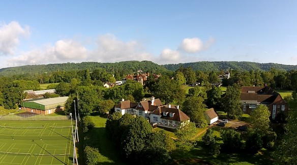 Image taken by the Bedales Drone
