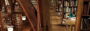 Bedales Library interior - banner
