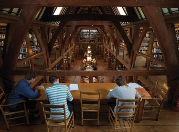 Bedales Memorial Library Interior